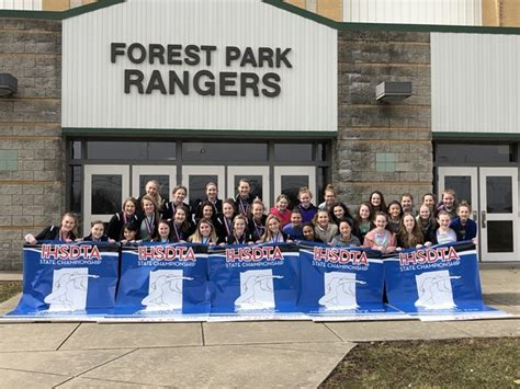 dance team wins state forest park jrsr high school
