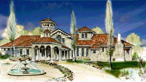 small spanish style homes small tuscan style home plans mediterranean ranch style homes