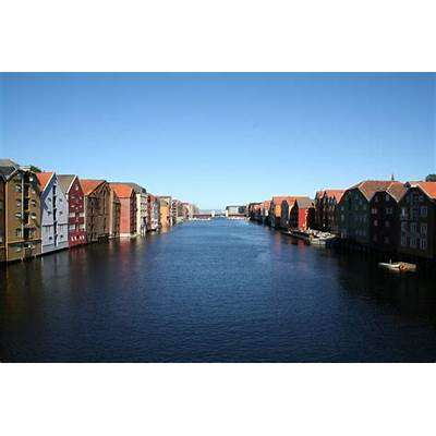 Norway - Trondheim Nidelva RiverFavorite Places