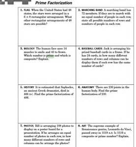factor worksheets 4th grade math 6 miss frederick 39 s classroom