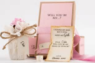 ribbon hair ties 30 and creative ways to ask quot will you be my bridesmaid