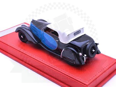 Please provide a valid price range. Bugatti T57 Stelvio 1936 Black/Blue by Evrat
