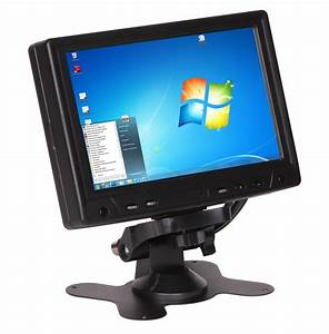 Touchscreen Folie 17 Zoll : amstyle 17cm 7 led lcd touchscreen monitor vga usb pc ~ Jslefanu.com Haus und Dekorationen