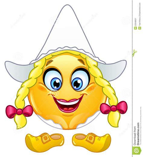 dutch emoticon stock image image