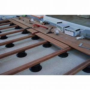 Installer Une Terrasse En Bois : installation d une terrasse en bois en ip un kit de 10 m2 cote terrasse am nagement de ~ Farleysfitness.com Idées de Décoration