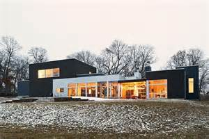 house plans contemporary a ranch tranformed into a modern residence in minnesota