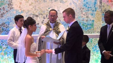 wedding vows and exchange of rings youtube