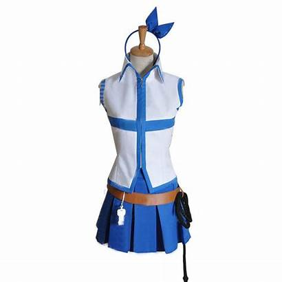 Lucy Fairy Tail Heartfilia Cosplay Costumes Uniforms