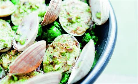 palourdes farcies aux pistaches recette palourdes