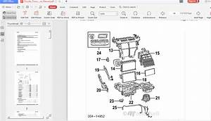 Chrysler Town Country 2011-2012 Parts Manual