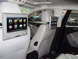 Touch Screen Headrest Car TV set Monitor built-in Analog TV,Suppprt HD 1080P Video Playing,HDMI input,USB/SD,FM and IR function
