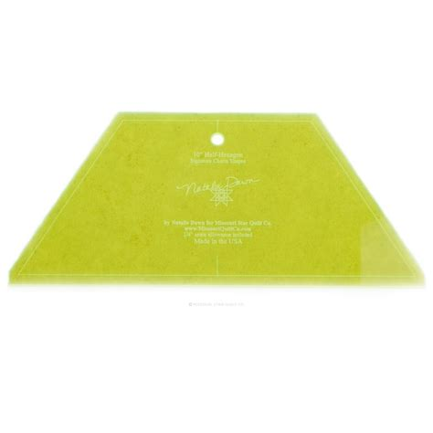 large  hexagon template   squares msqc