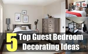 Guest Bedroom Decorating Ideas 5 Top Guest Bedroom Decorating Ideas Tips For Decorating Guest Bedroom Diy Martini