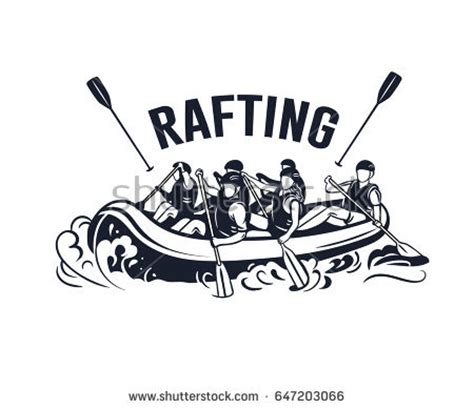 Rafting Boat Clipart by Oar Stock Images Royalty Free Images Vectors