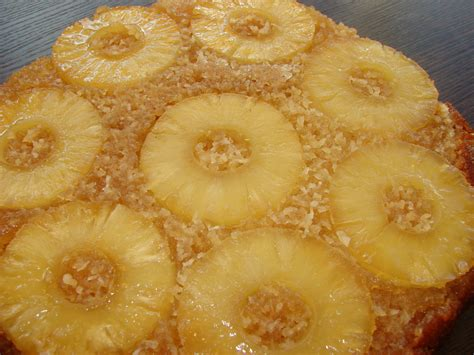 pineapple  coconut upside  cake  papercup kitchen