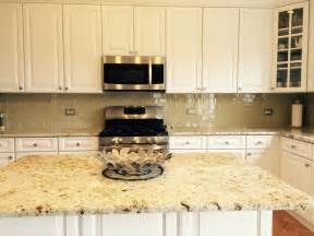 kitchen glass tile backsplash khaki glass tile kitchen backsplash with white cabinets granite subway tile outlet