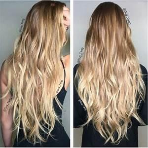 Ombré Hair Blond Foncé : meche sur cheveux blond cpmusy ~ Nature-et-papiers.com Idées de Décoration