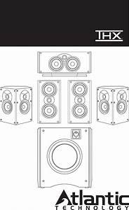 Atlantic Technology Speaker 4400 Lr User Guide