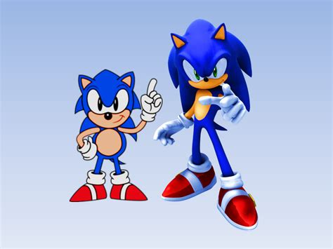 top classic sonic the hedgehog wallpapers