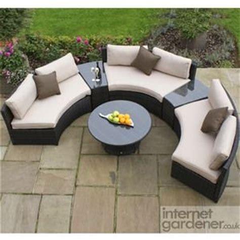 Kontiki Patio Furniture Wicker Conversation Group by Curved Rattan Sofa Thesofa