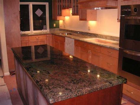 Kangaroo Granite Countertops   Vibrant Red Granite Kitchen