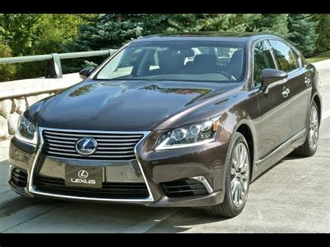 cool looking ls best cars ever 2016 lexus ls 600h l first look review youtube