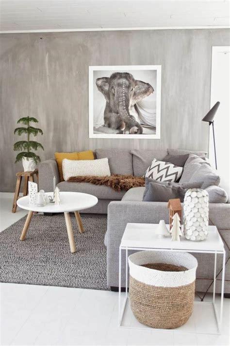 deco salon avec canape gris deco salon avec canape gris et blanc