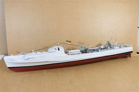 Radio Controlled Motor Torpedo Boats by Graupner Robbe Radio Controlled Wwii German Pt Mtb Torpedo