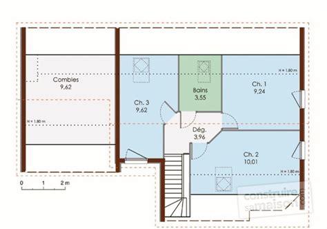 Plan Canapã Bois Maison à Ossature Bois Dé Du Plan De Maison à
