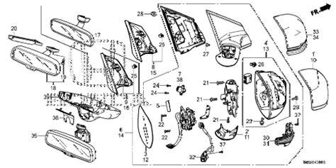 Honda Online Store Crv Mirror Parts