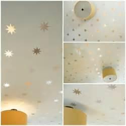 babyzimmer dekoration schöne baby kinderzimmer deko idee zum selbermachen sternehimmel
