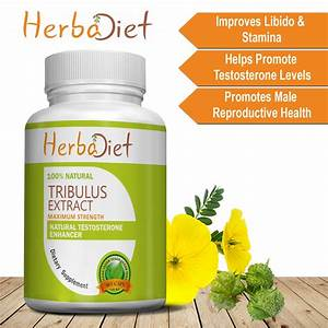 Tribulus Terrestris Extract 1000mg Per Serving 60  Saponins Bodybuilding Muscles
