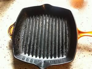 Emaillierte Gusseisen Pfanne : le creuset grillpfanne missgeschick beim einbrennen noch zu retten grillforum und bbq ~ Markanthonyermac.com Haus und Dekorationen