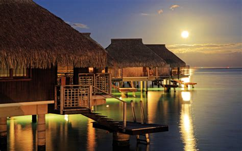 overwater bungalows travel leisure