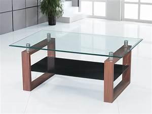 coffee table clear black glass dark wood legs 1 shelf With glass coffee table black legs