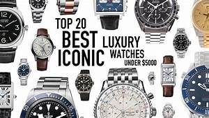 Top 20 Best Iconic Luxury Watches Under $5000 New/Used ...