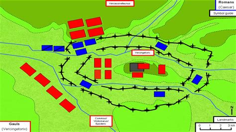 siege alesia siege of alesia 52 bc the of battle