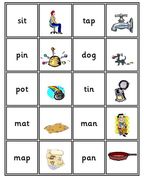 Debbie's Resource Cupboard Letters And Sounds Phase 2 Matching Pairs Game
