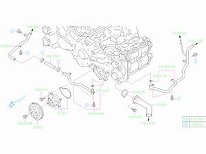 2019 Subaru Forester Engine Coolant Thermostat Housing