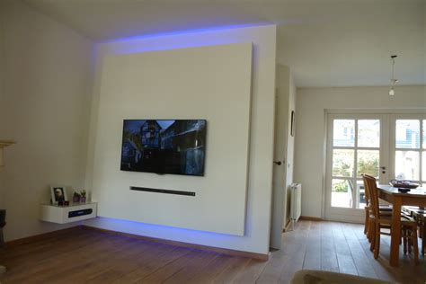 Tv Möbel Wand by Tv Wand Voordemakers Nl