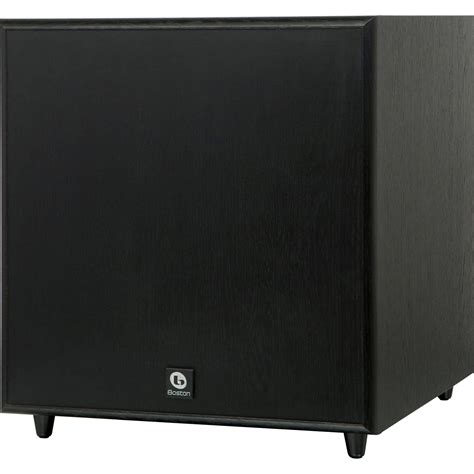 boston acoustics classic series sub10 ii cssub10iib 01201 b h