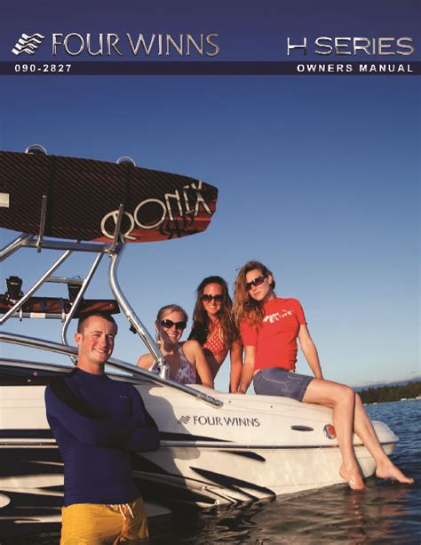 Four Winns Boat Owners Manual by 2011 Four Winns H Series Boat Owners Manual