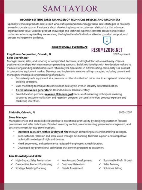 Fmcg Resume Format by Resume Fmcg
