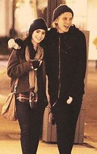 Jamie Campbell Bower and Lily Collins   Jamie Campbell ...