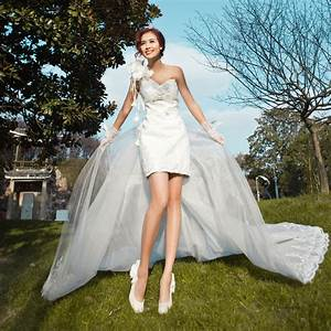 korean wedding dress 2018 modern style pictures With korean wedding dresses