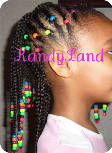 little girls braid styles with beads google search