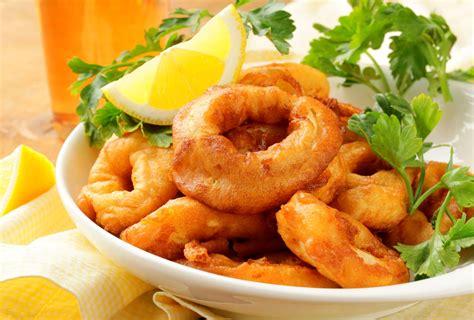 calamar cuisine beignets de calamars cuisine az