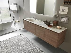 Badmöbel 2 Waschbecken : refinished bad schrank mit gl nzendem steinzeug waschbecken idfdesign ~ Markanthonyermac.com Haus und Dekorationen