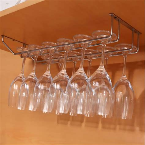 Cabinet Stemware Rack Canada by Cabinet Wall Wine Rack Storage Organizer Stainless