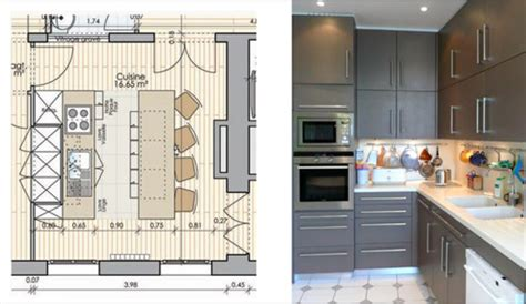 plan cuisine 10m2 12 idées de cuisines avec plans et photos côté maison